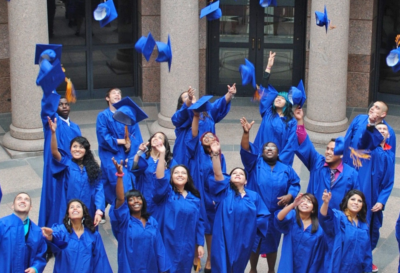 texans can academies graduating thinkers high schools of choice