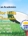 Dallas Can Academies Cares for Kids Golf Classic