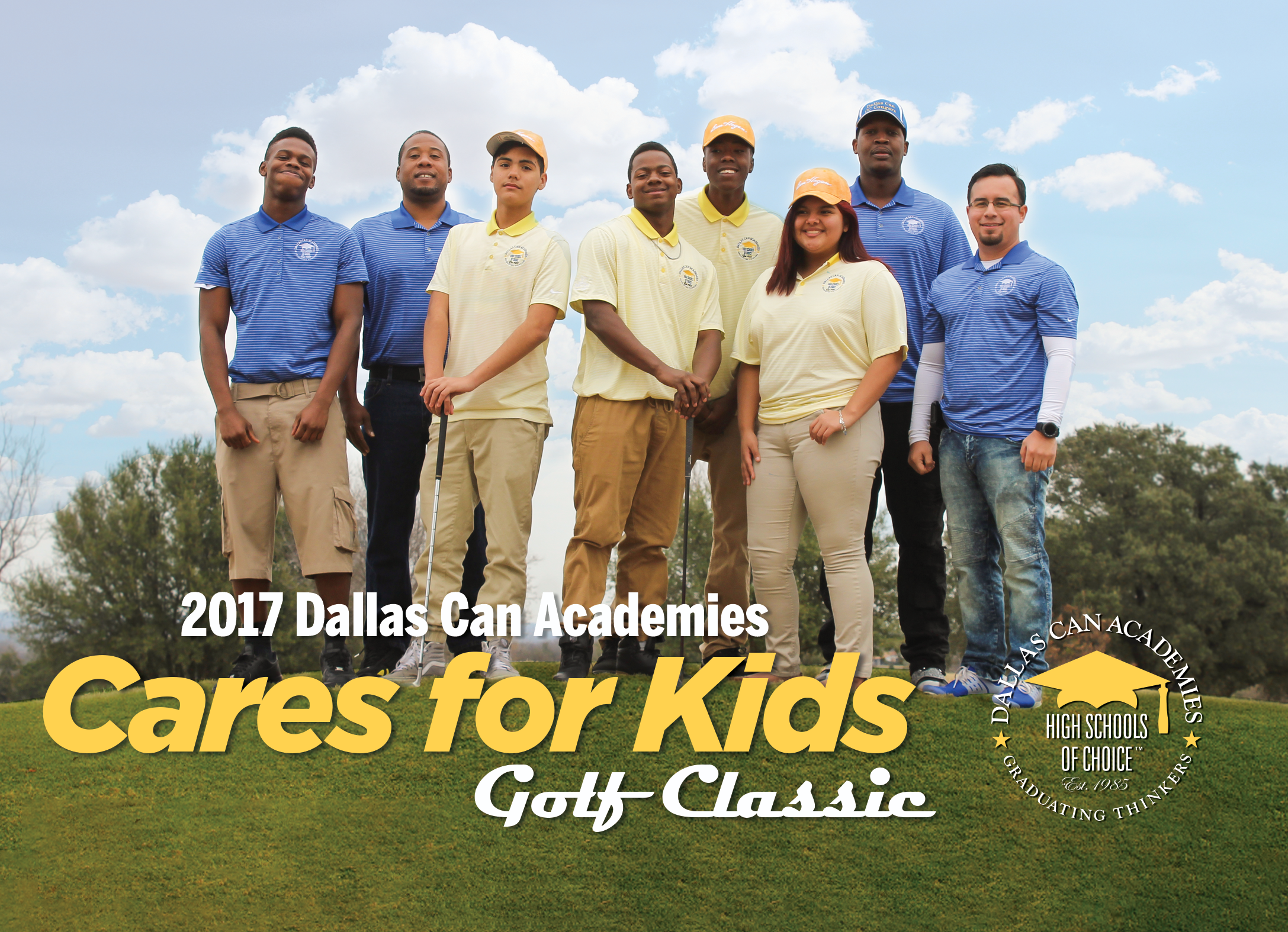 Dallas Can Academies Cares for Kids Golf Classic - Texans Can Academies