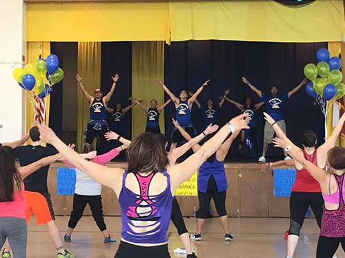 Zumbathon Raises Funds, Helping Senior Class Prom Make History