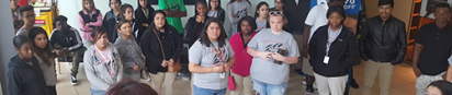 Fort Worth Can Academy Students Visit Tarrant County College