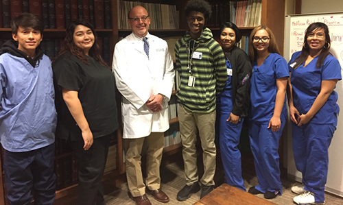 Dallas Can Academy Volunteers Offer Dose of Careers Available in Medicine