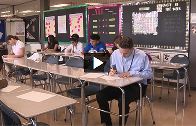 Students Learn from Accelerated Curriculum at San Antonio Can High School