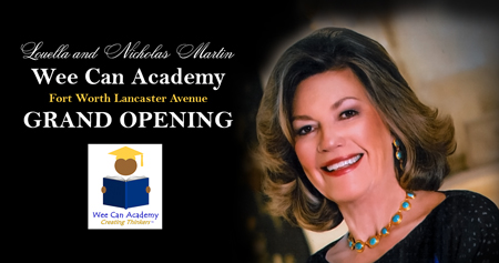 Wee Can Academy - Fort Worth - Lancaster Avenue - Grand Opening