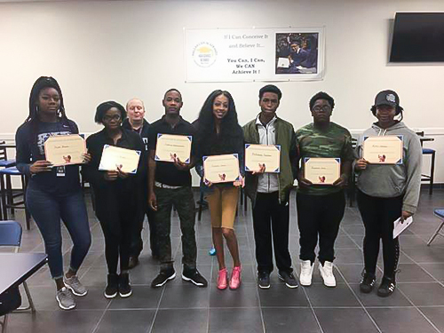 Christmas Comes Early for Texans Can Academy - Dallas Grant East Students in Form of Scholarships