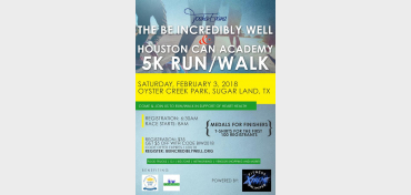 Be Incredibly Well & Houston Can 5K Run/Walk