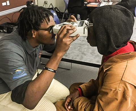 Fort Worth High School Students Learn How to Make Prescription Eye Glasses