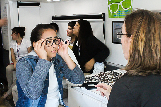 Free eye exams, glasses going to Austin students in need!