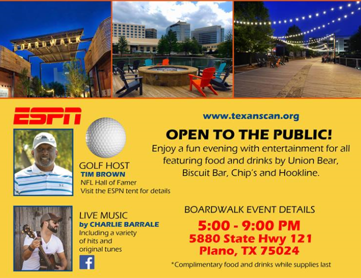 The Boardwalk Granite Park Benefiting Texans Can Academies