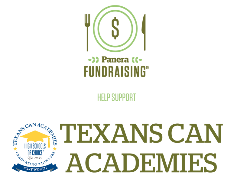Panera Bread Countdown 2 Class Fundraiser benefiting Texans Can Academies
