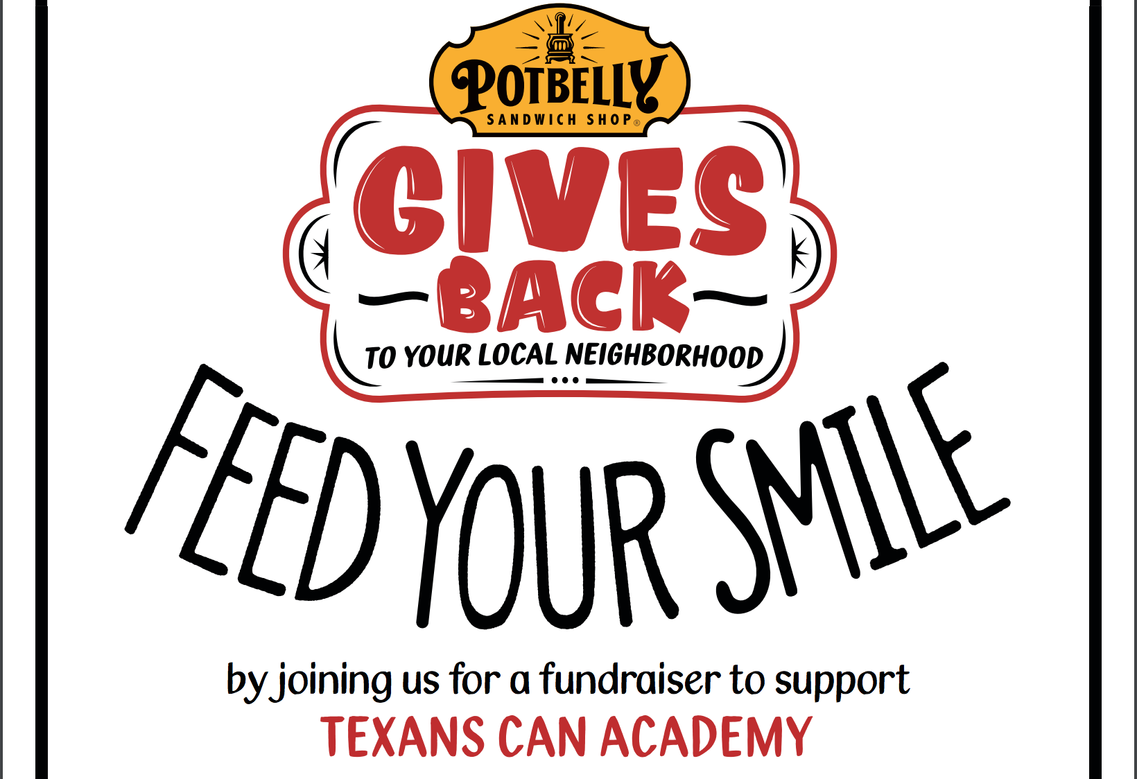 Potbelly Gives Back to Texans Can Academies