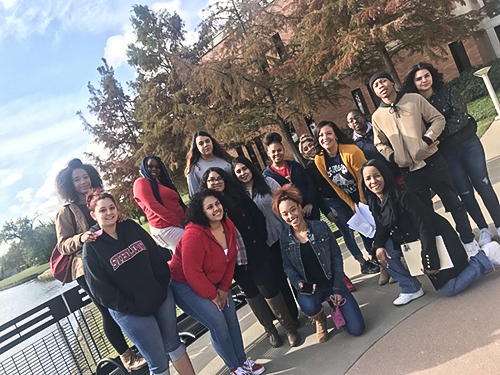 Texans Can Academy – Garland Campus Students Enroll in Dual Credit Courses With Richland College