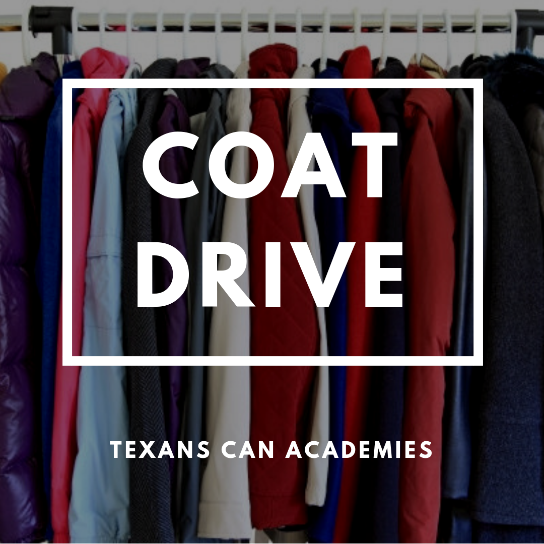 Winter Coat Drive - Texans Can Academies
