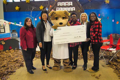 Molina Healthcare Presents $500 Check to Wee Can Academy - Ross Avenue