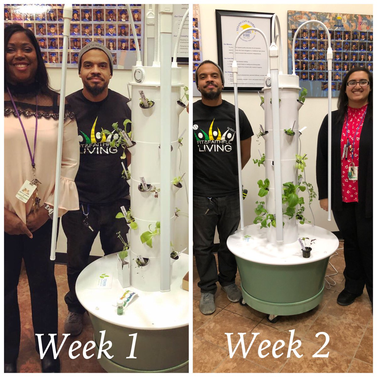 Fort Worth Students Are Growing Fresh Herbs and Vegetables with Aeroponic Systems