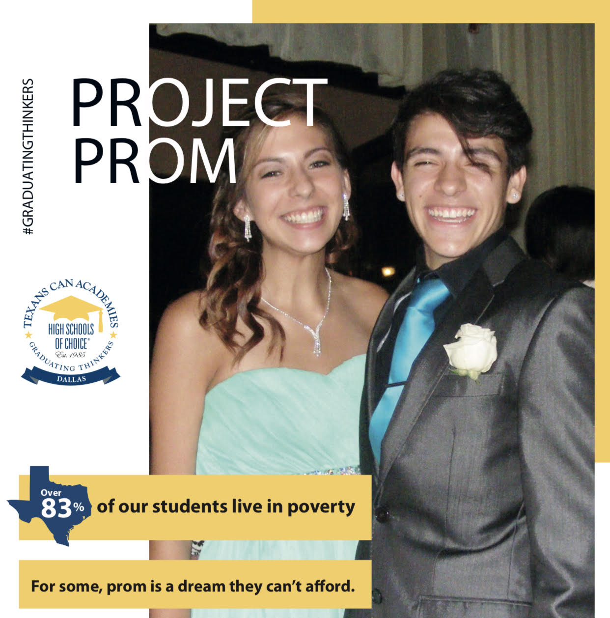 Texans Can Academies - Dallas - Project Prom