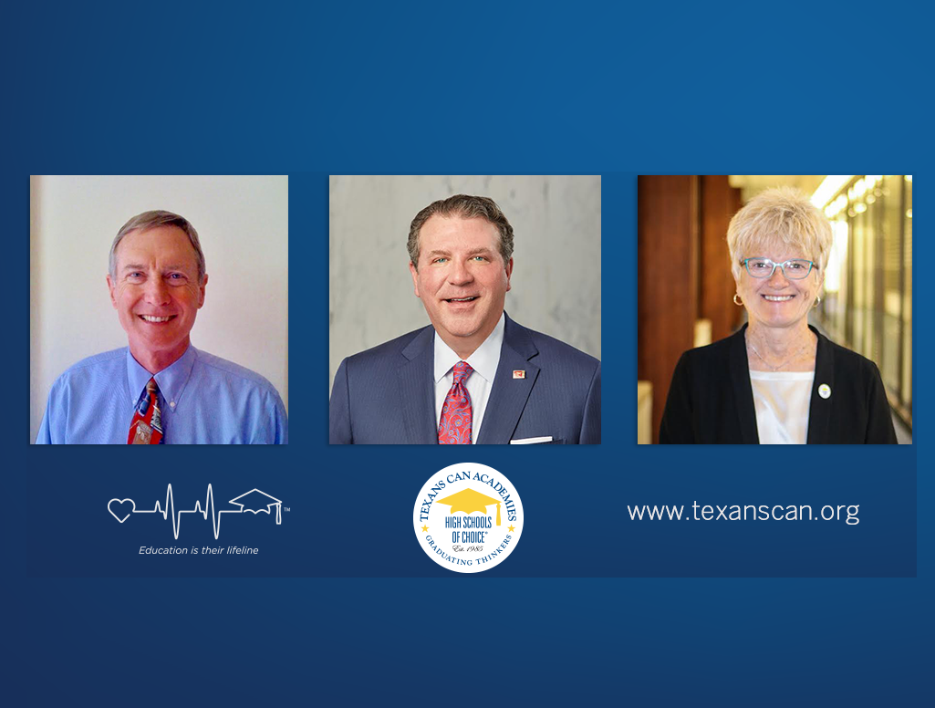 The Board of Trustees of Texans Can Academies Elects Three New Members