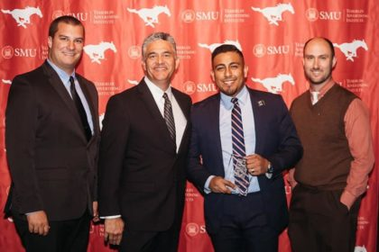 Ad 2 Dallas Recognizes Texans Can Academies' Director of Digital Media During 32 Under 32 Awards